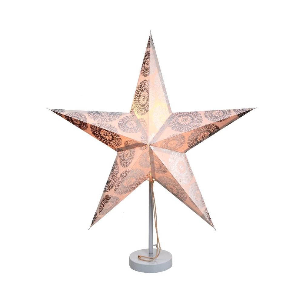 Produktové foto LATERNA MAGICA Papírová dekorační hvězda 60 cm - stříbrná