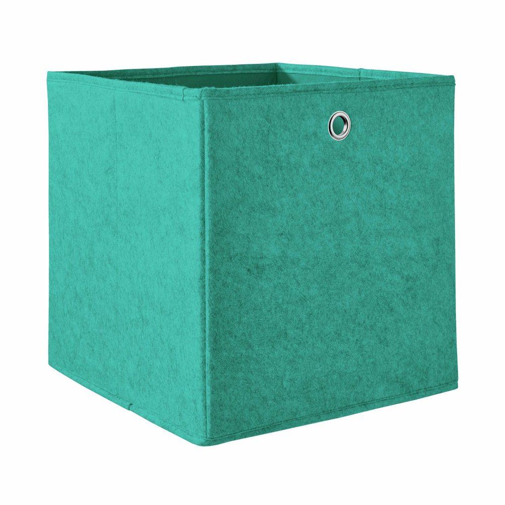 TIDY UP Úložný box 30 cm - tyrkysová