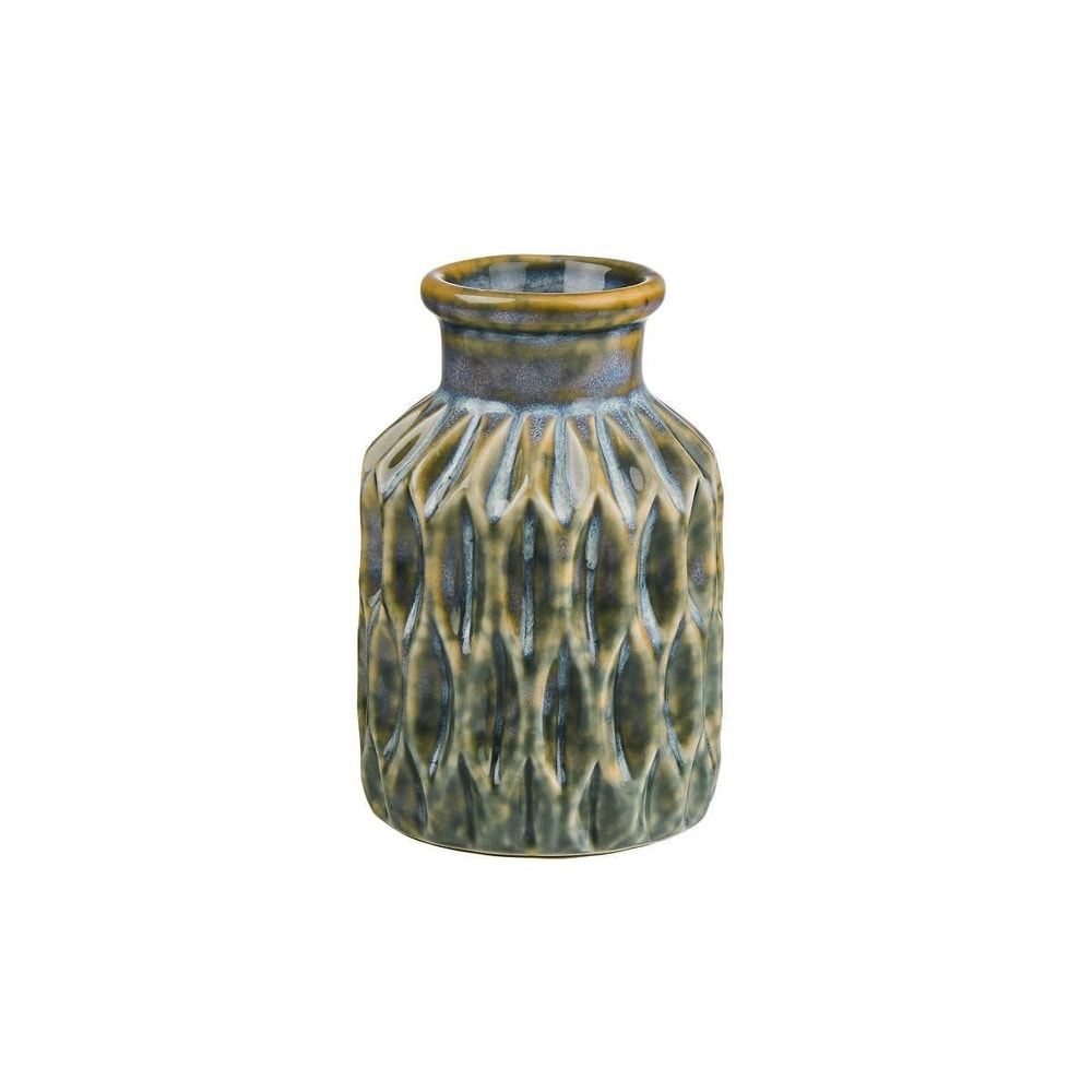 AKIRA Váza mini 11 cm - pastelově modrá