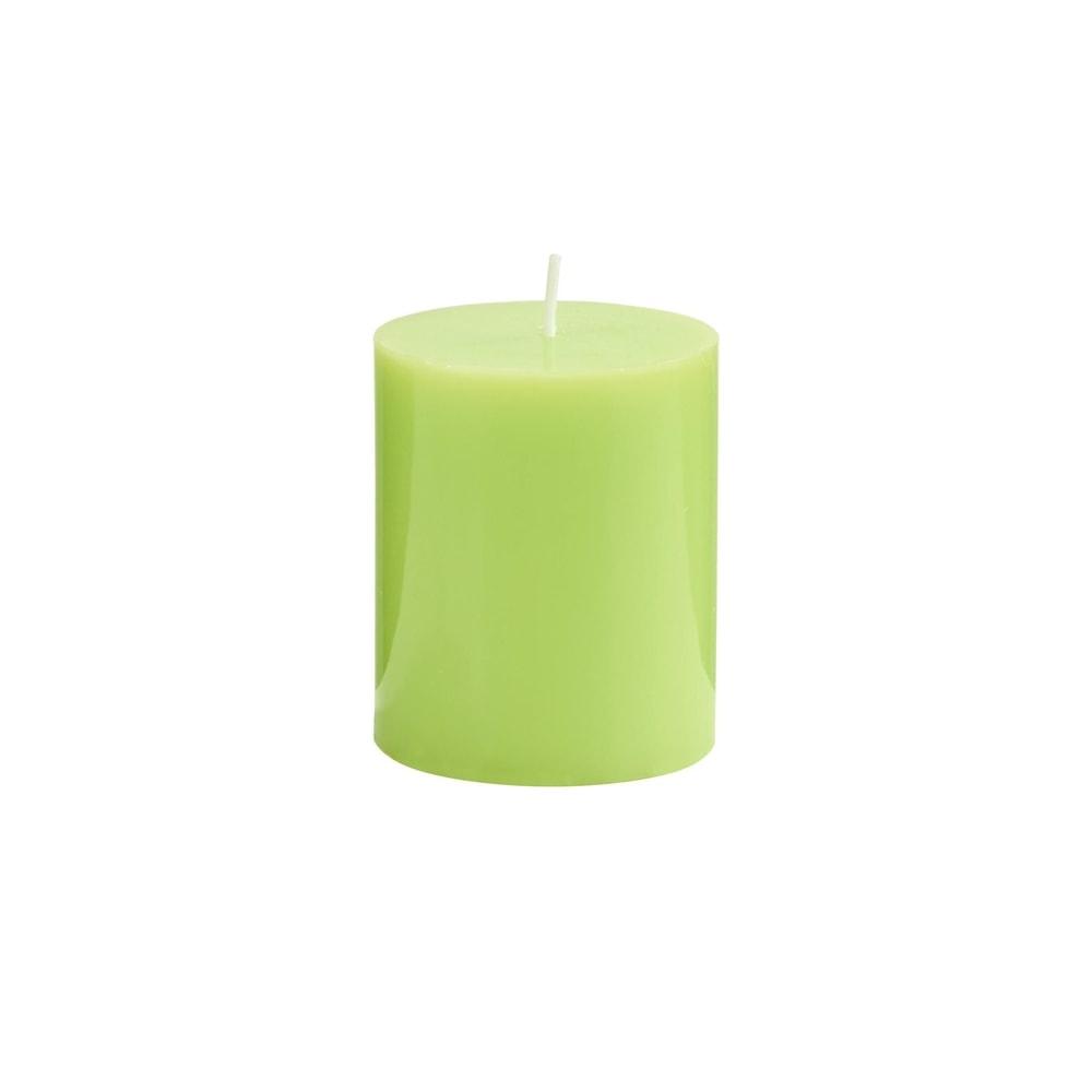 Produktové foto GLAZE Svíčka 8 cm - sv. zelená