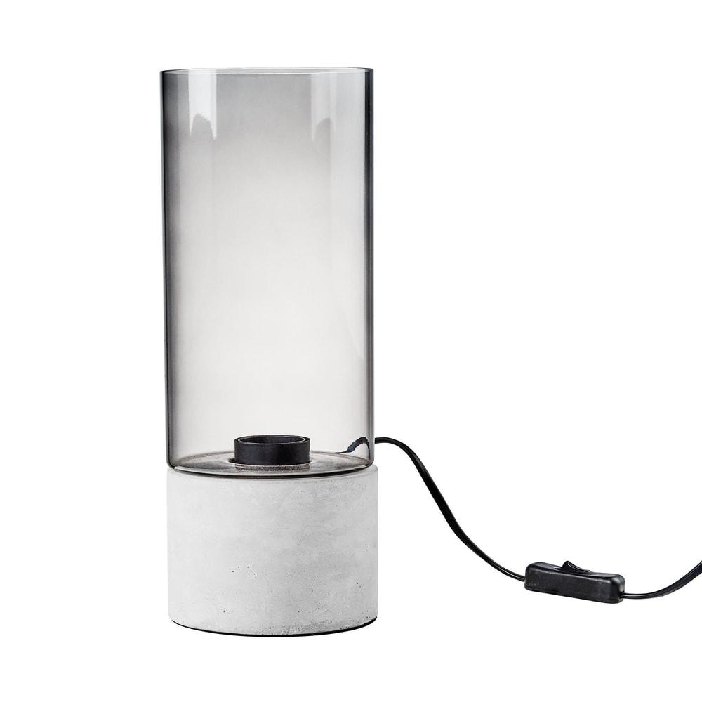 Produktové foto STILO Podstavec na světlo se skleněným stínidlem