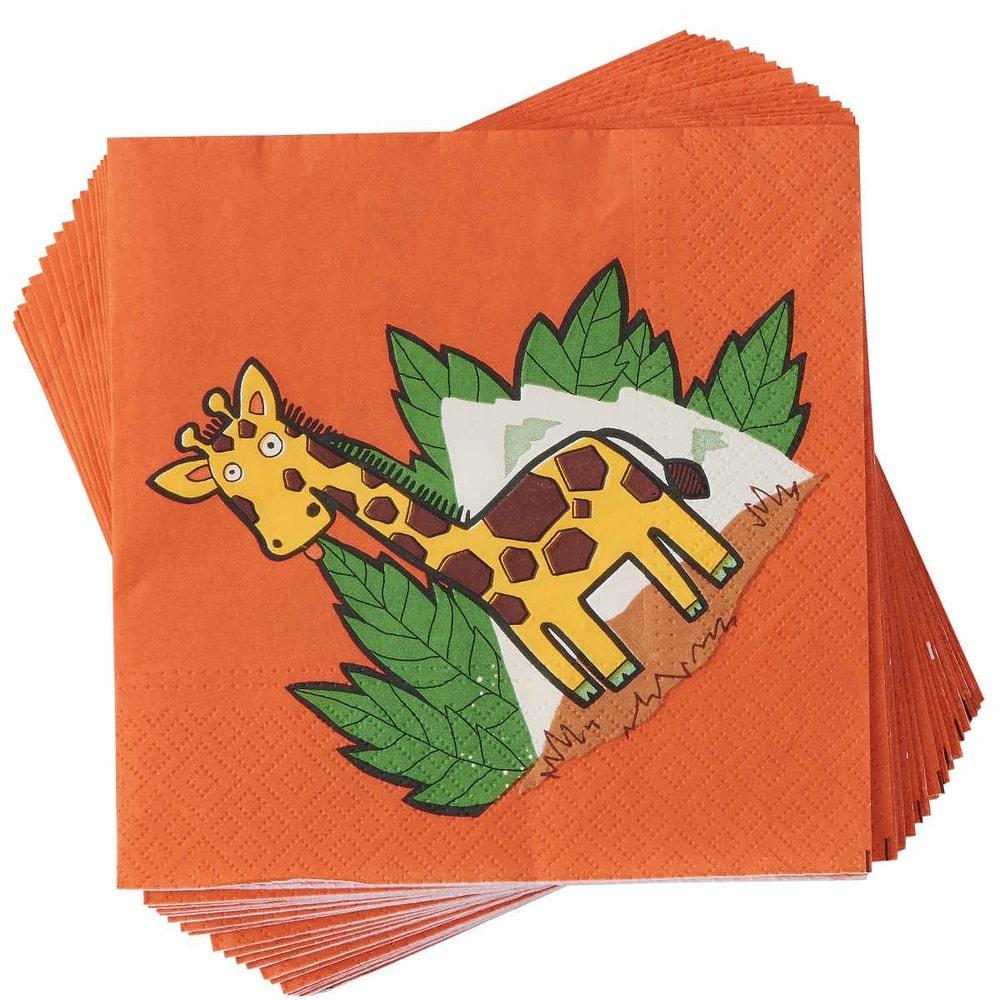 APRÉS Papírové ubrusky žirafa