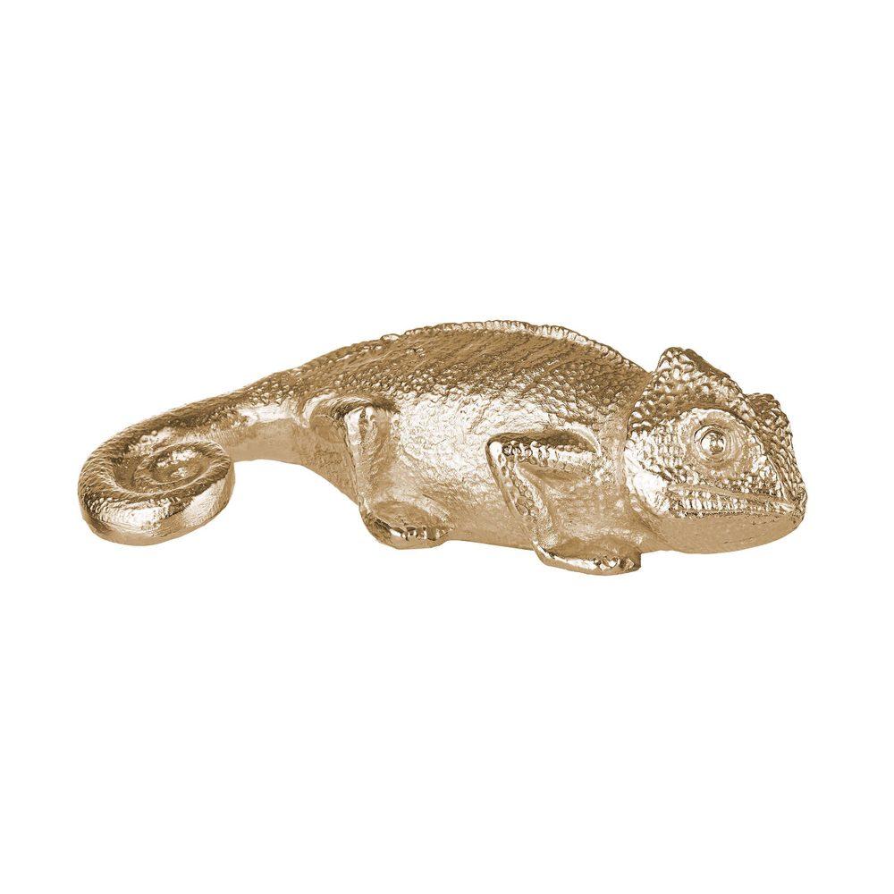 GOLDEN NATURE Dekorační chameleon