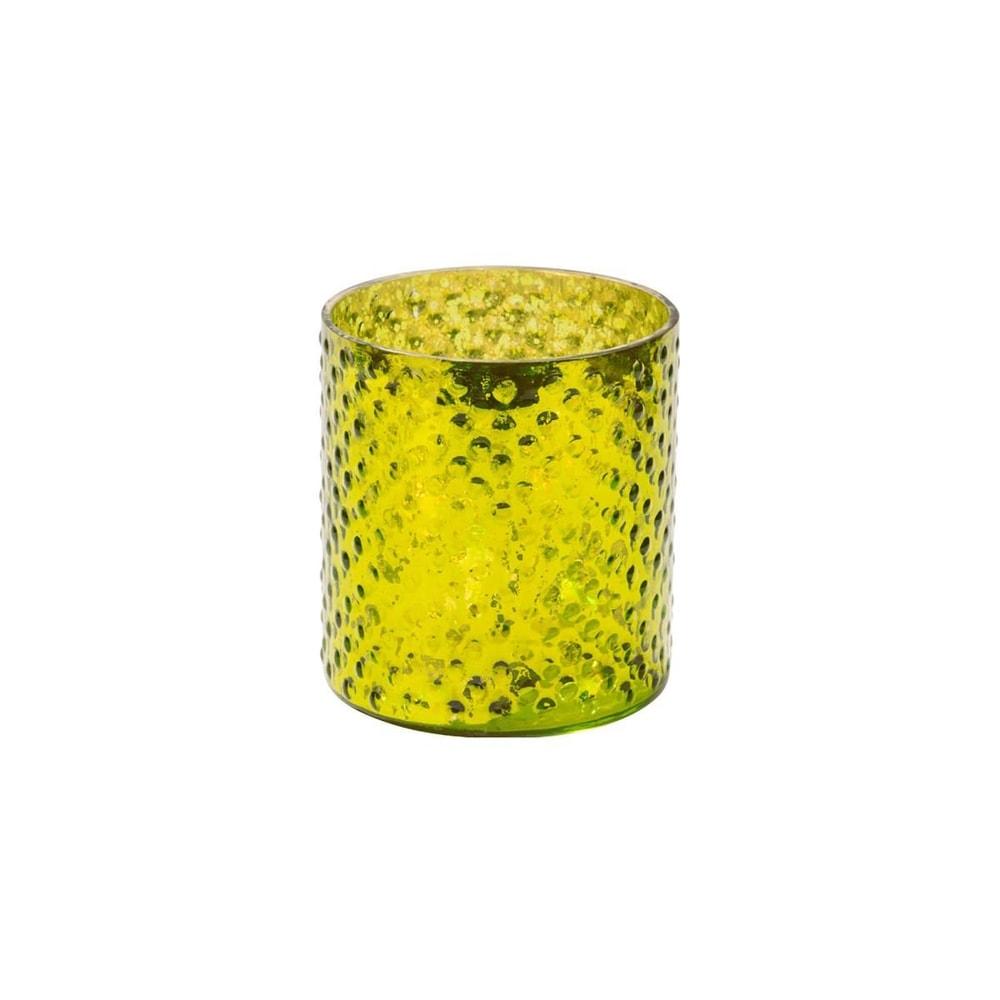Fotografie DELIGHT Svícen na čajovou svíčku 8 cm - zelená