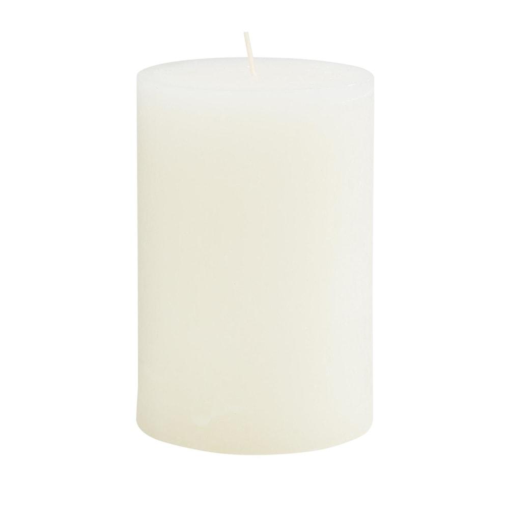 RUSTIC Svíčka 15 cm - krémová