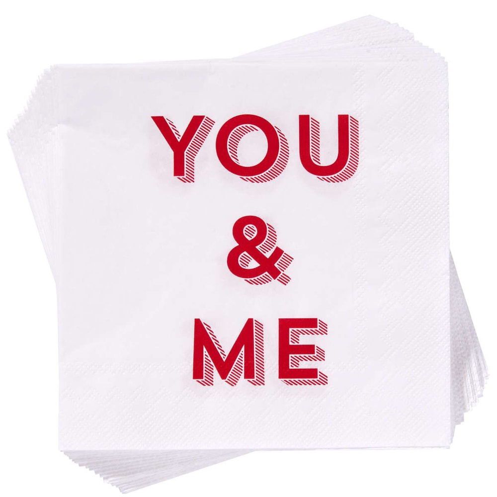 """Fotografie APRÉS Papírové ubrousky """"You & Me"""""""