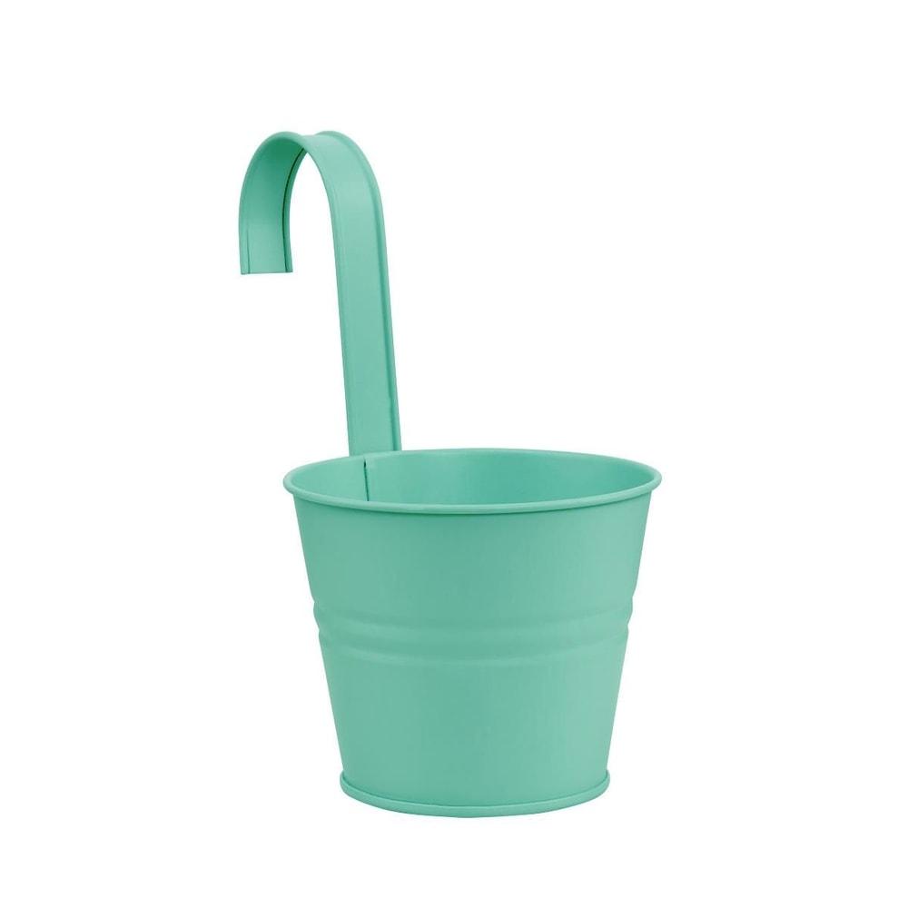ZINC Závěsný květináč 16 cm - mátová