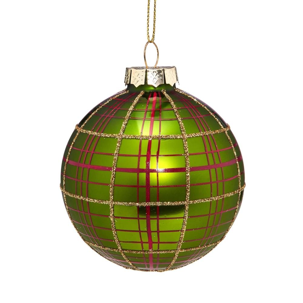 HANG ON Vánoční koule kostka