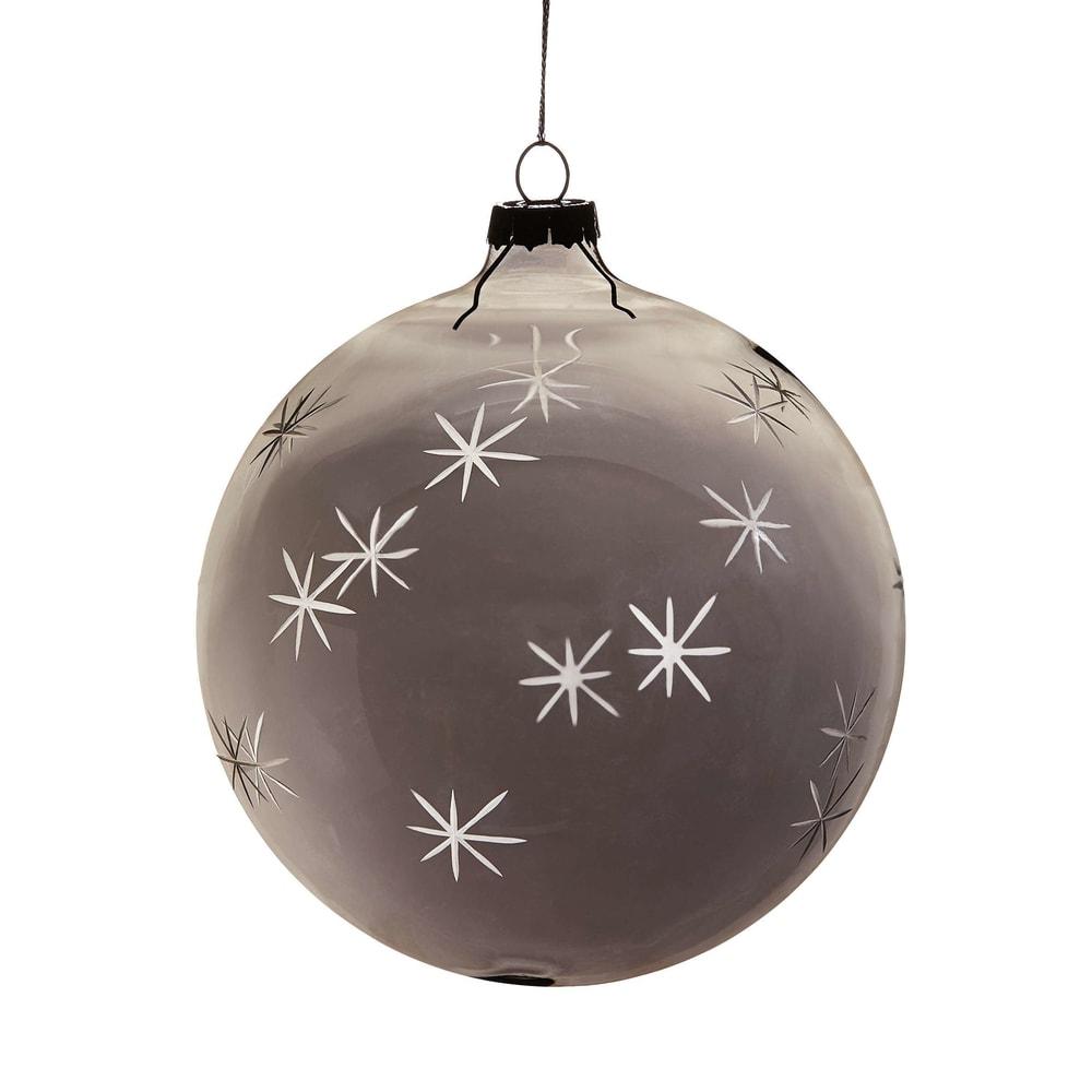 HANG ON Vánoční koule s hvězdami 10 cm