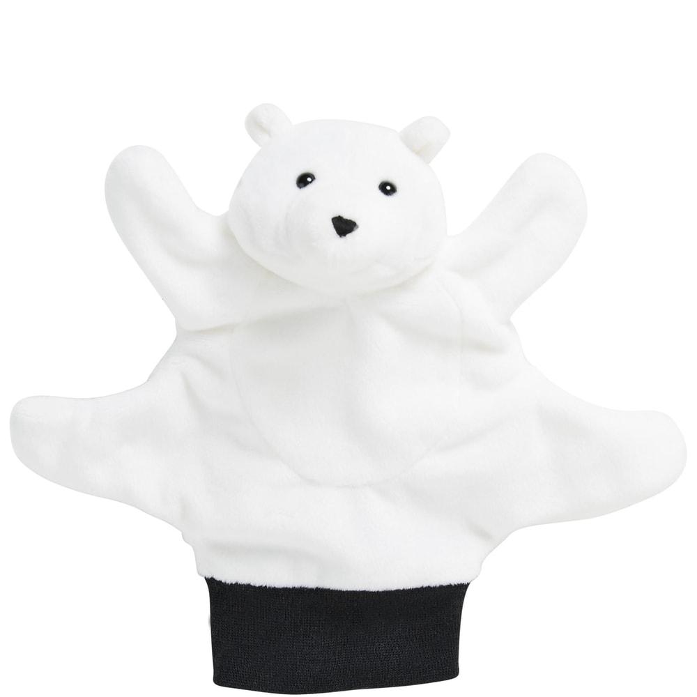 Produktové foto WILD GUYS Maňásek na ruku lední medvěd