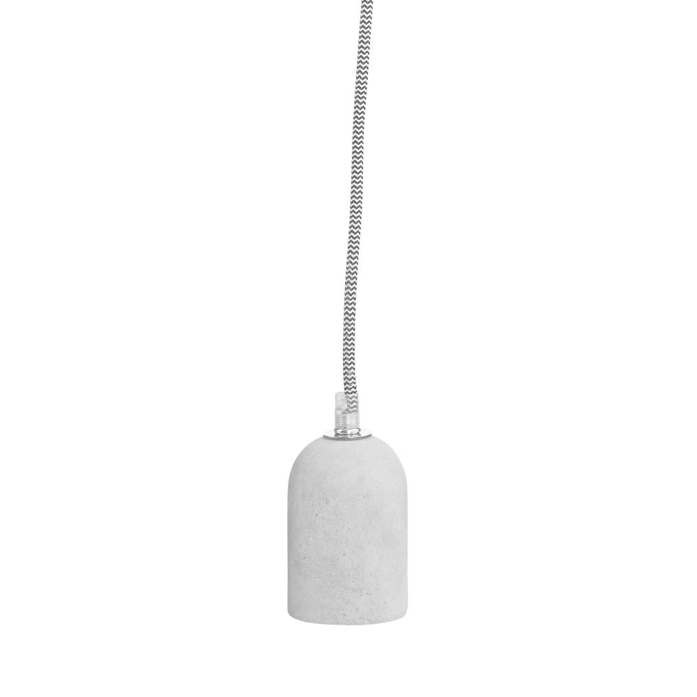 LUMOS Závěsná lampa - šedá