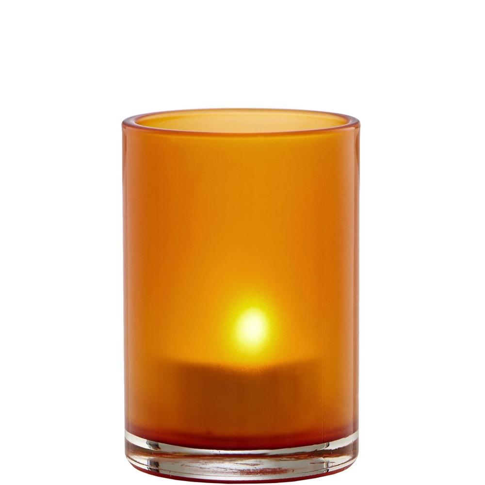 Produktové foto DELIGHT Svícen - oranžová