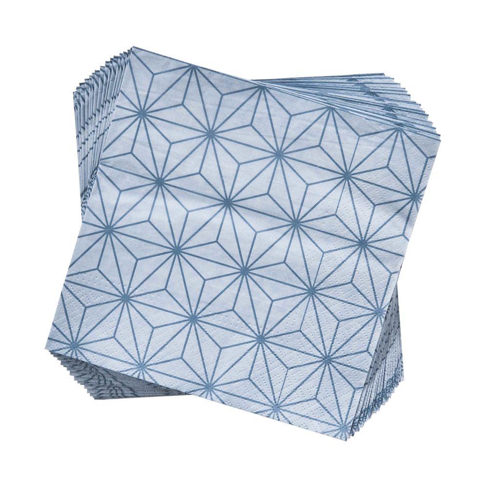 APRÈS Papírové ubrousky šestiúhelník 20 ks