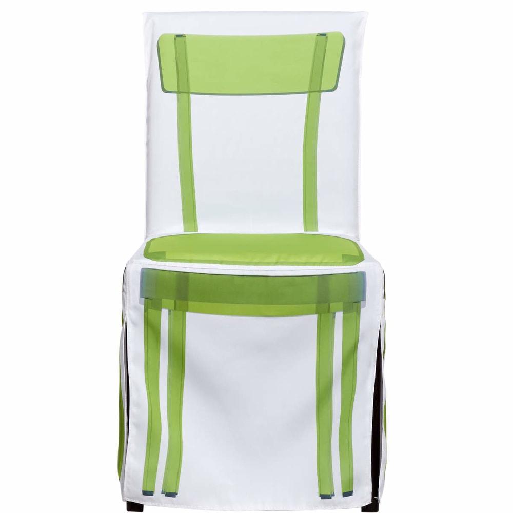 Fotografie GHOST Povlak na židli Ghost