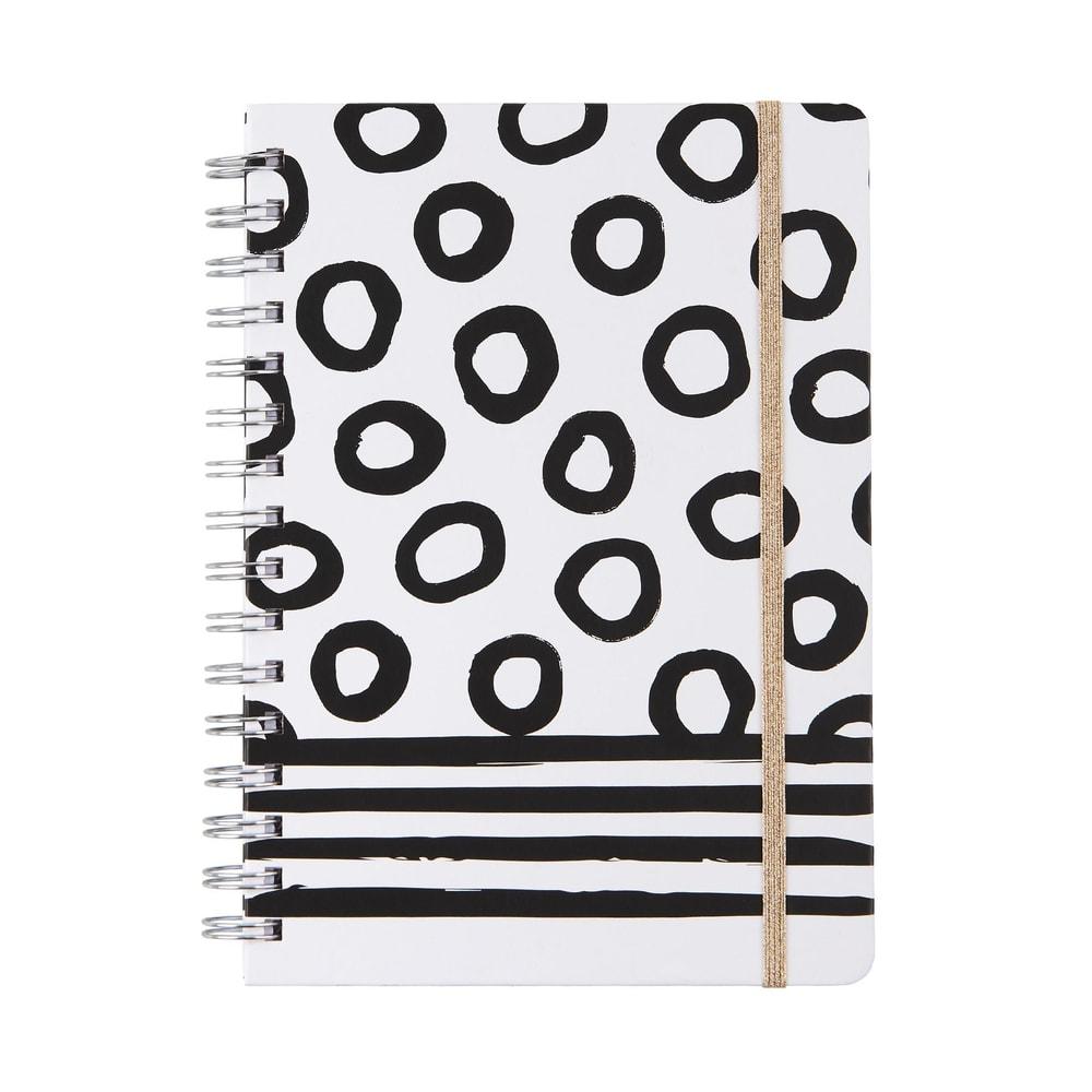 JOURNAL Zápisník formát A5 - černá/bílá