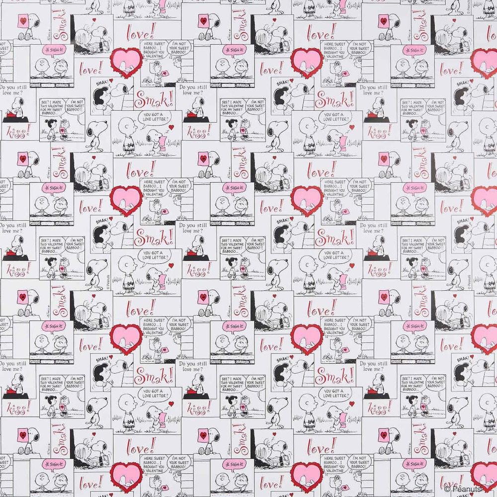 PEANUTS Balicí papír Snoopy Comic Love