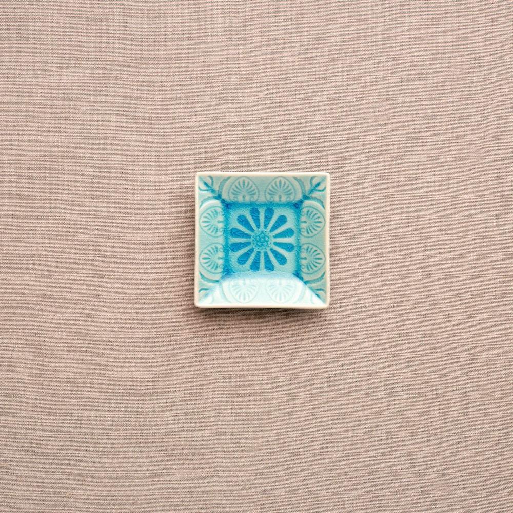 Produktové foto SUMATRA Mini miska hranatá - modrá
