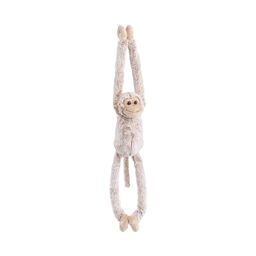 FUNKY MONKEY Plyšová opice visící se suchým zipem