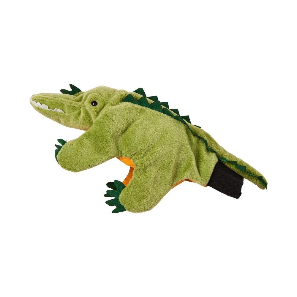 Produktové foto WILD GUYS Maňásek krokodýl