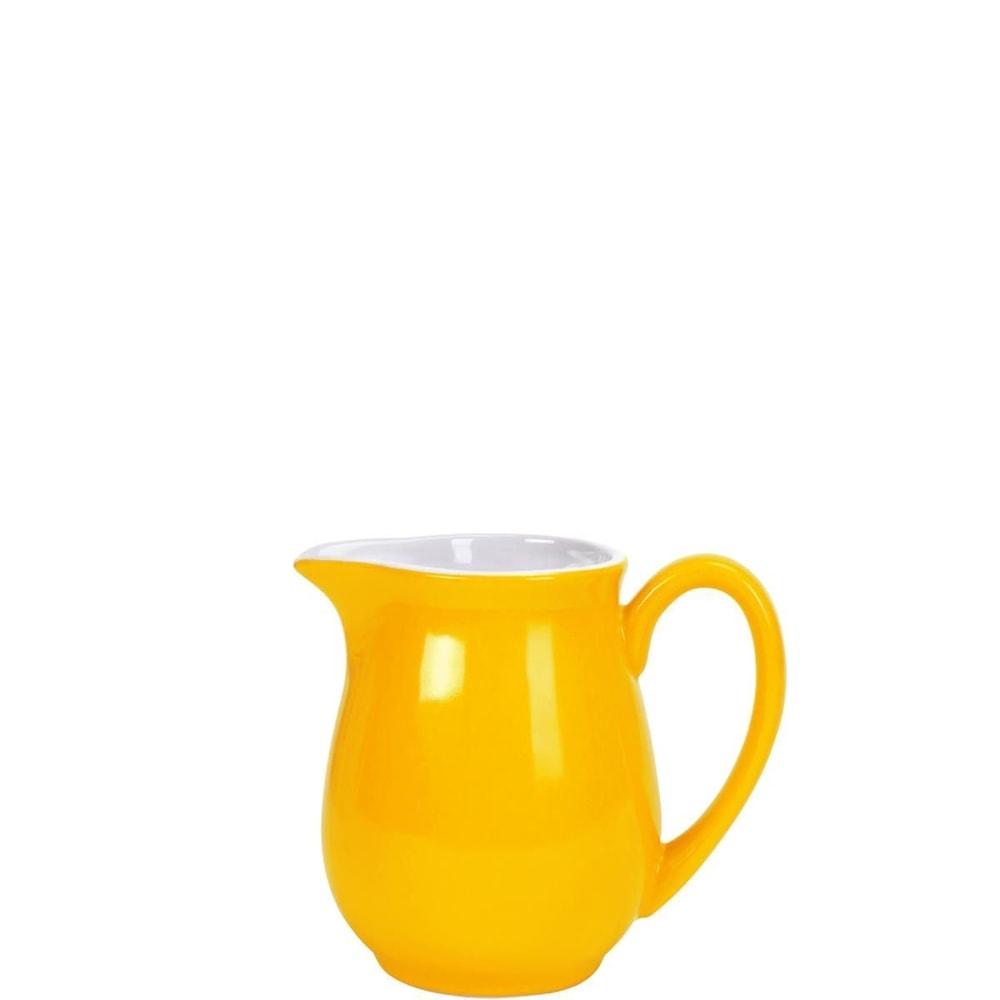 MIX IT! Konvička na mléko 250 ml - žlutá
