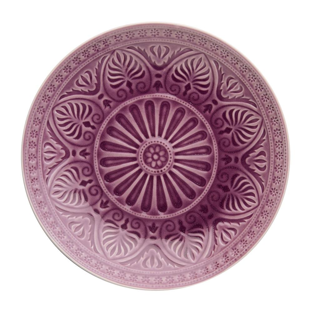 Produktové foto SUMATRA Talíř 31 cm - fialová