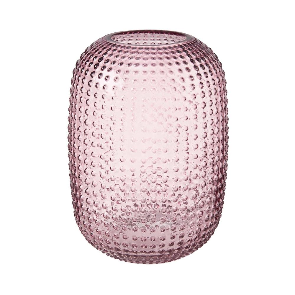 PINK PANTHER Váza skleněná puntíky