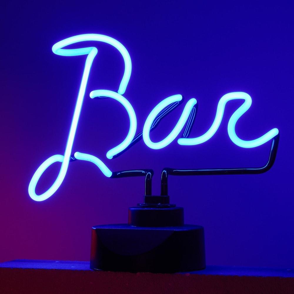 BAR Neonová lampa BAR