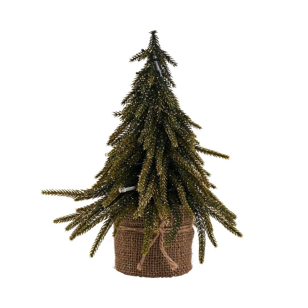 Fotografie TREE OF THE MONTH Vánoční stromek se zlatými elementy malý TREE OF THE MONTH