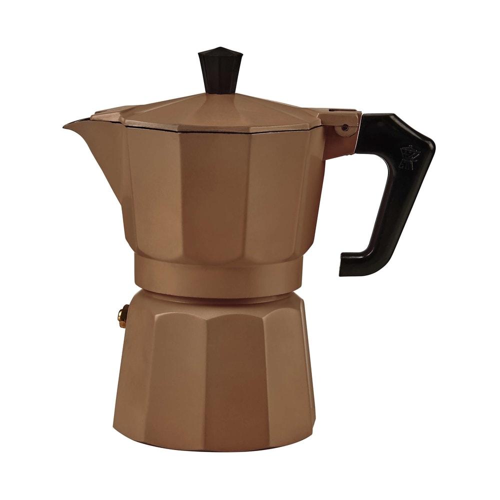 ESPERTO Kávovar pro 3 šálky - hnědá