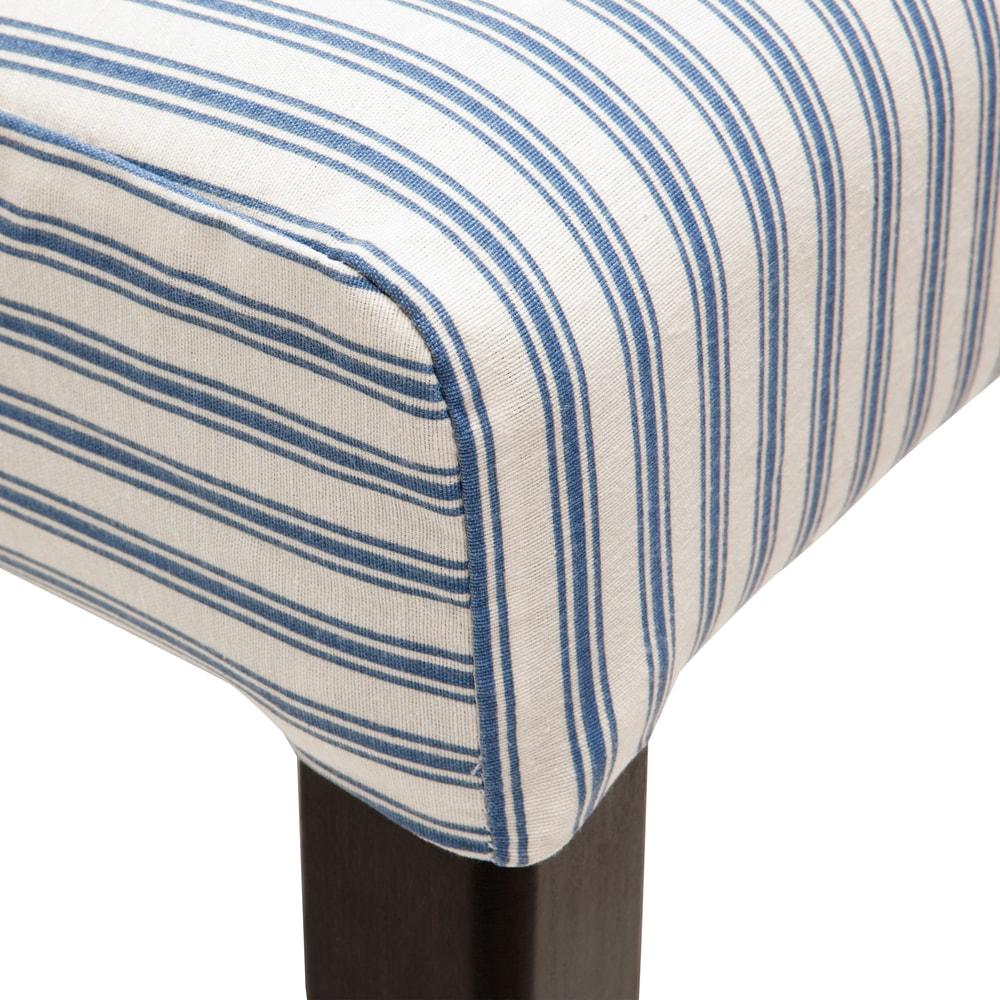 Produktové foto COPPERFIELD Povlak na židli proužky - modrá/bílá
