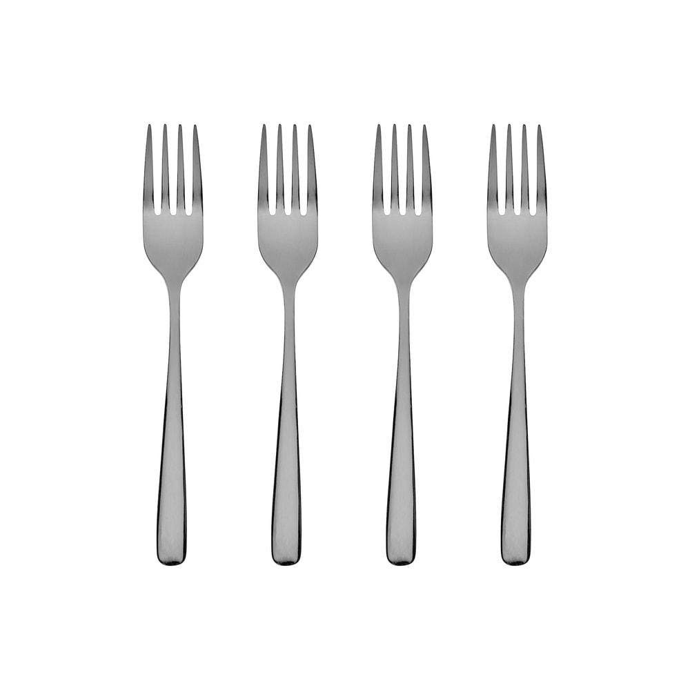 QUEENS Dezertní vidličky set 4 ks - černá