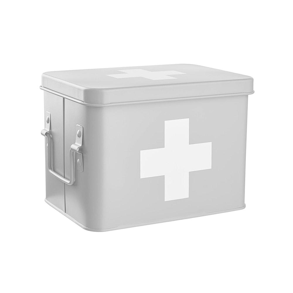 MEDIC Box na léky - šedá