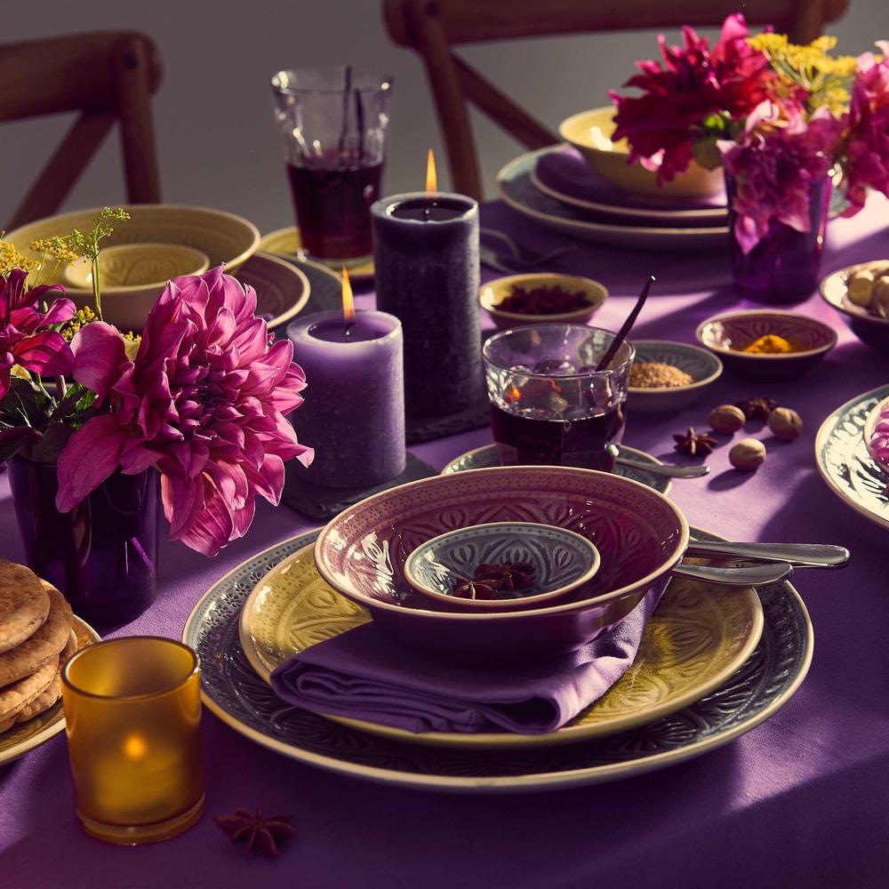 Produktové foto SUMATRA Mísa 18 cm - fialová