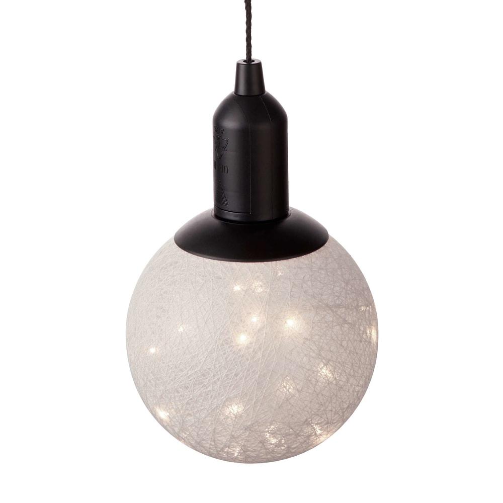HIGH SPIRIT LED Závěsné světlo 15 cm - šedohnědá