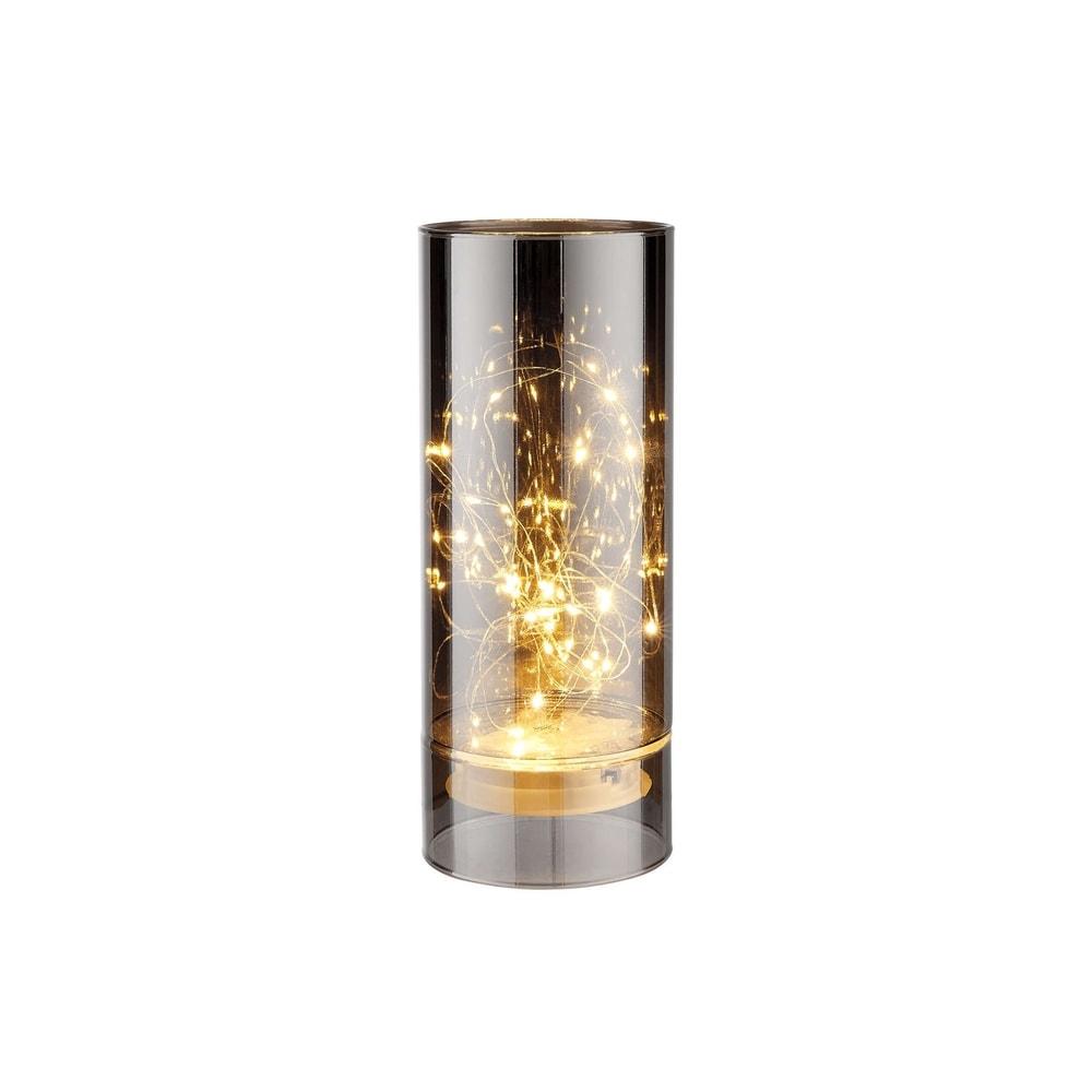 LUMINO LED Skleněná lampa zrcadlová 8 cm