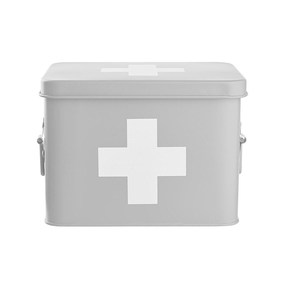Produktové foto MEDIC Box na léky - šedá