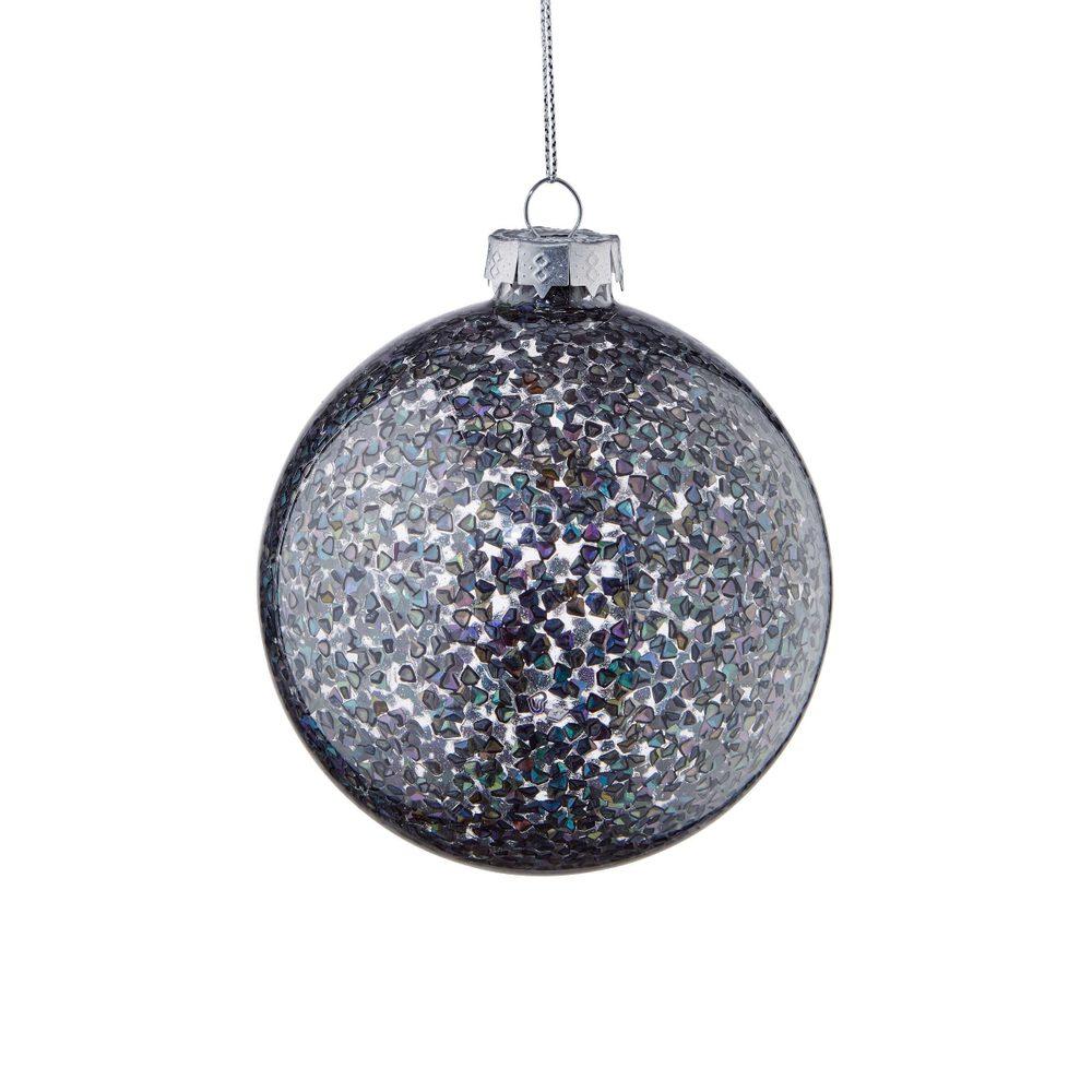 HANG ON Vánoční koule střepiny 8 cm