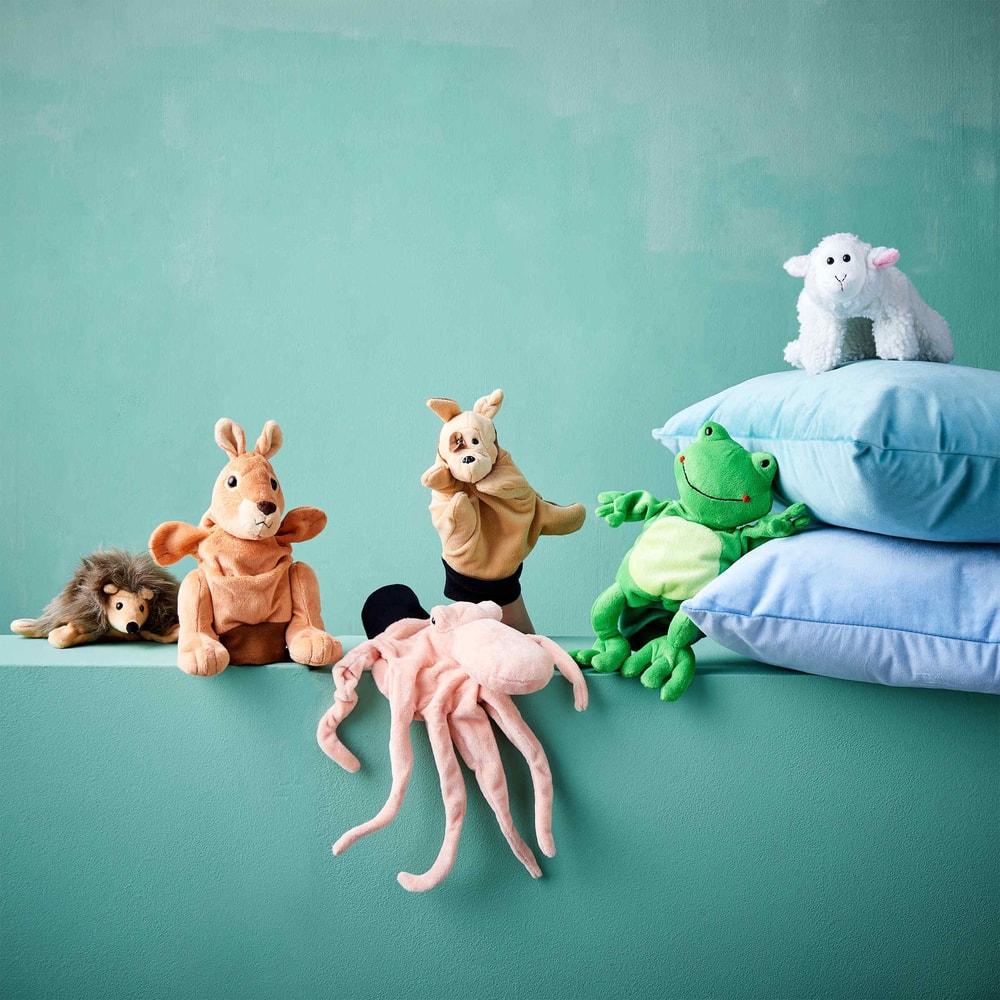 Produktové foto WILD GUYS Maňásek chobotnice