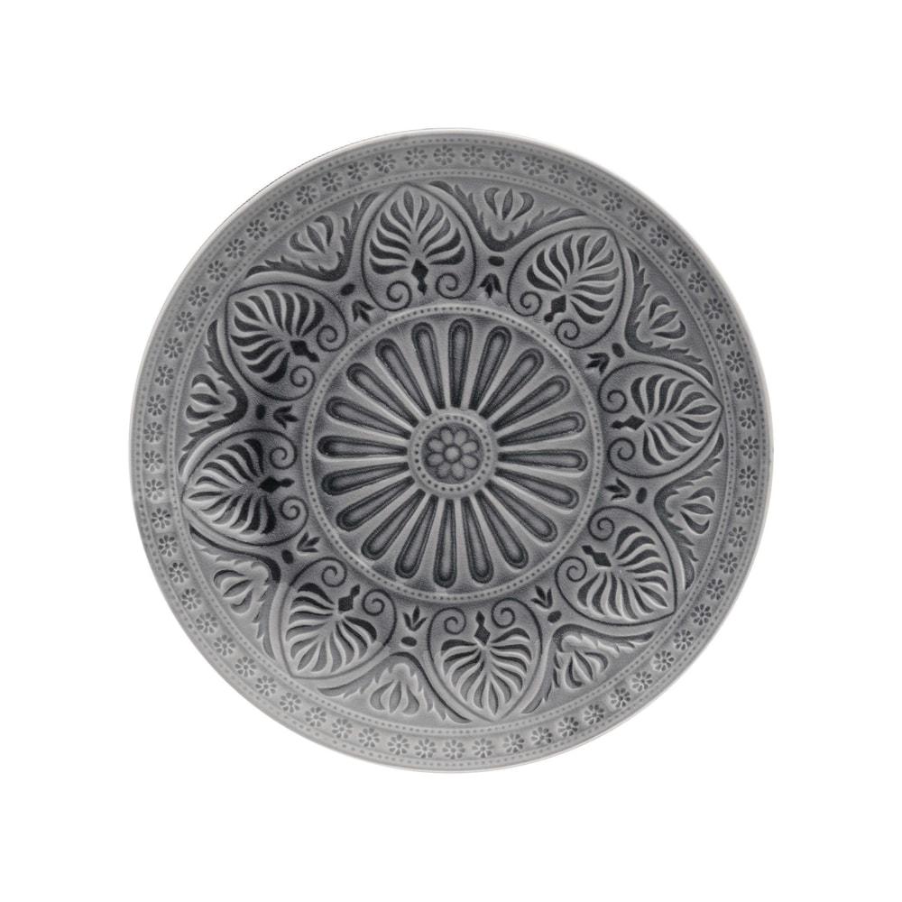 Produktové foto SUMATRA Talíř 25 cm - šedá