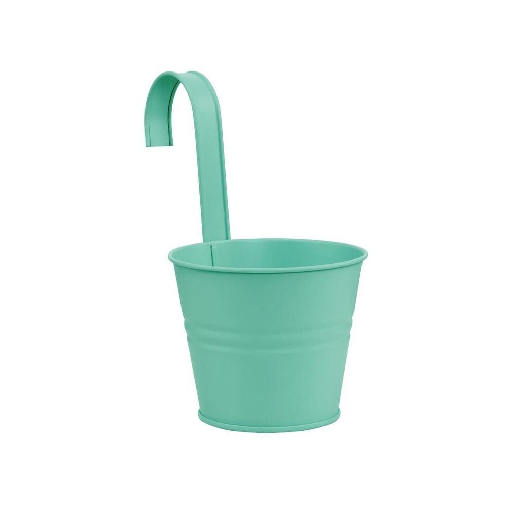 ZINC Závěsný květináč 13 cm - mátová