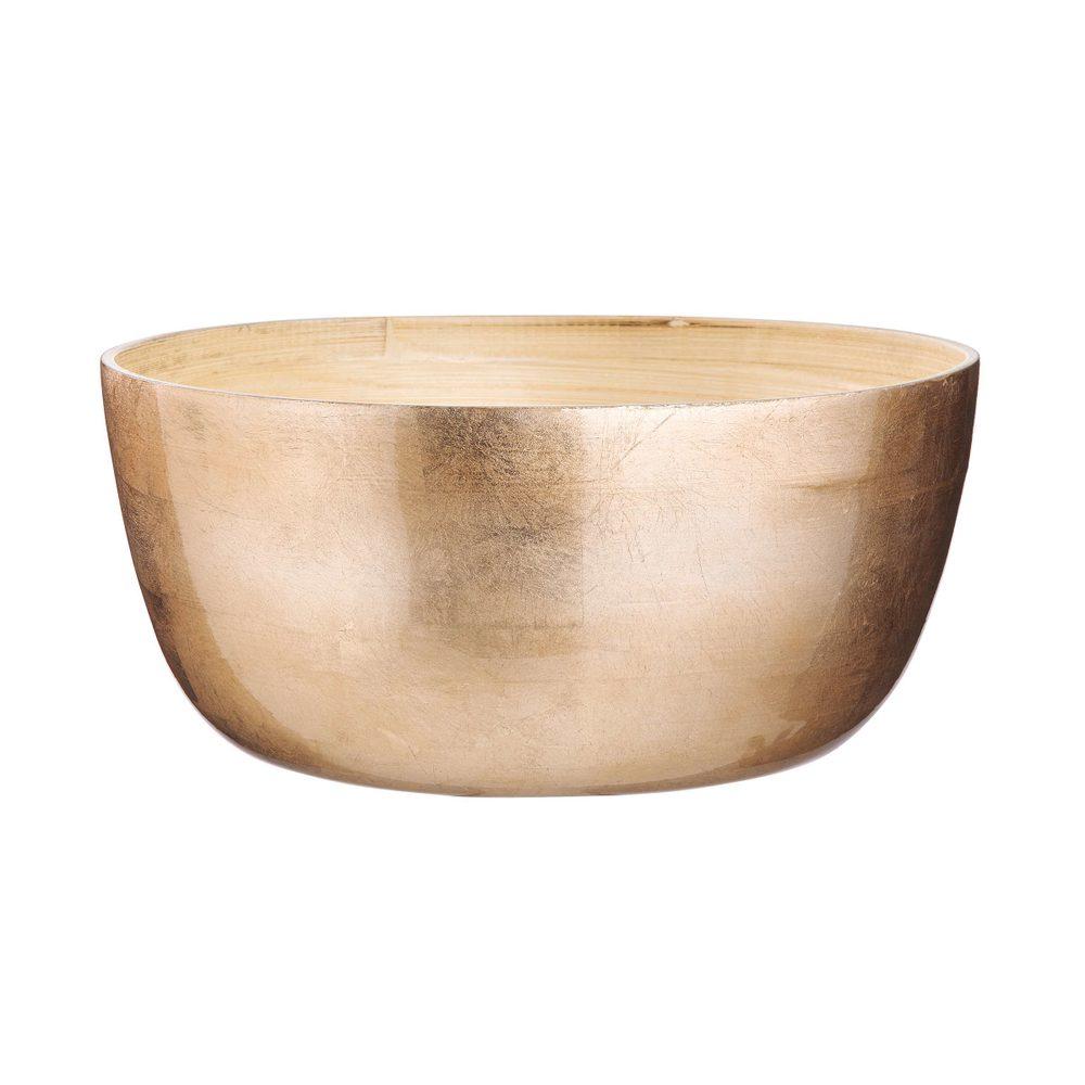 BAMBOO Mísa bambus 30 cm - růžová zlatá