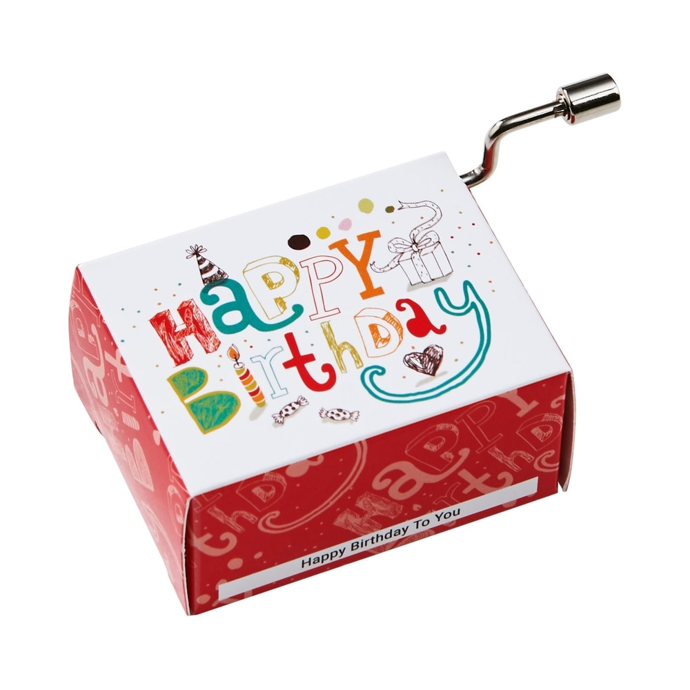 Fotografie SING A SONG Hrací skříňka Happy Birthday klasik