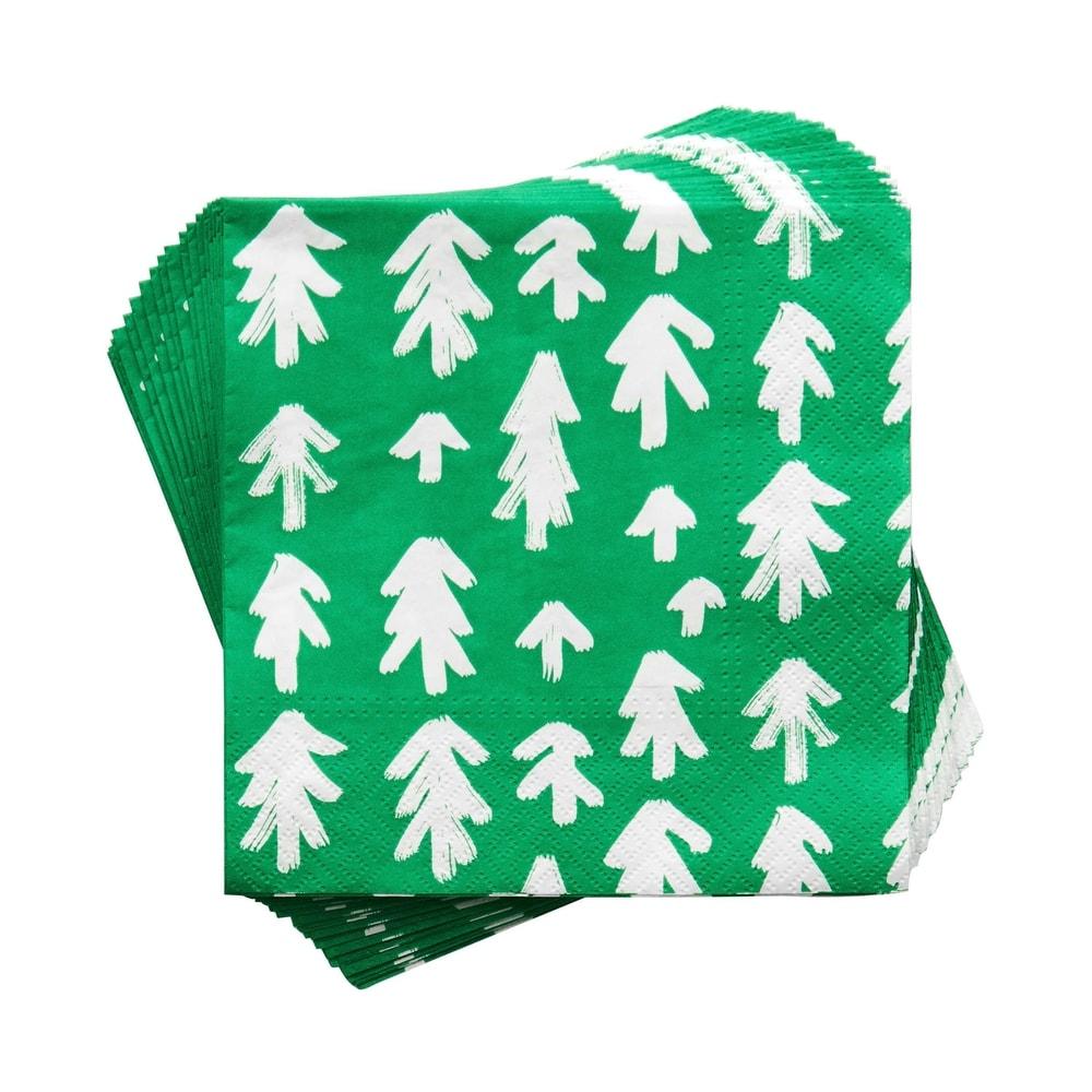 APRÉS Papírové ubrousky stromečky 20 ks
