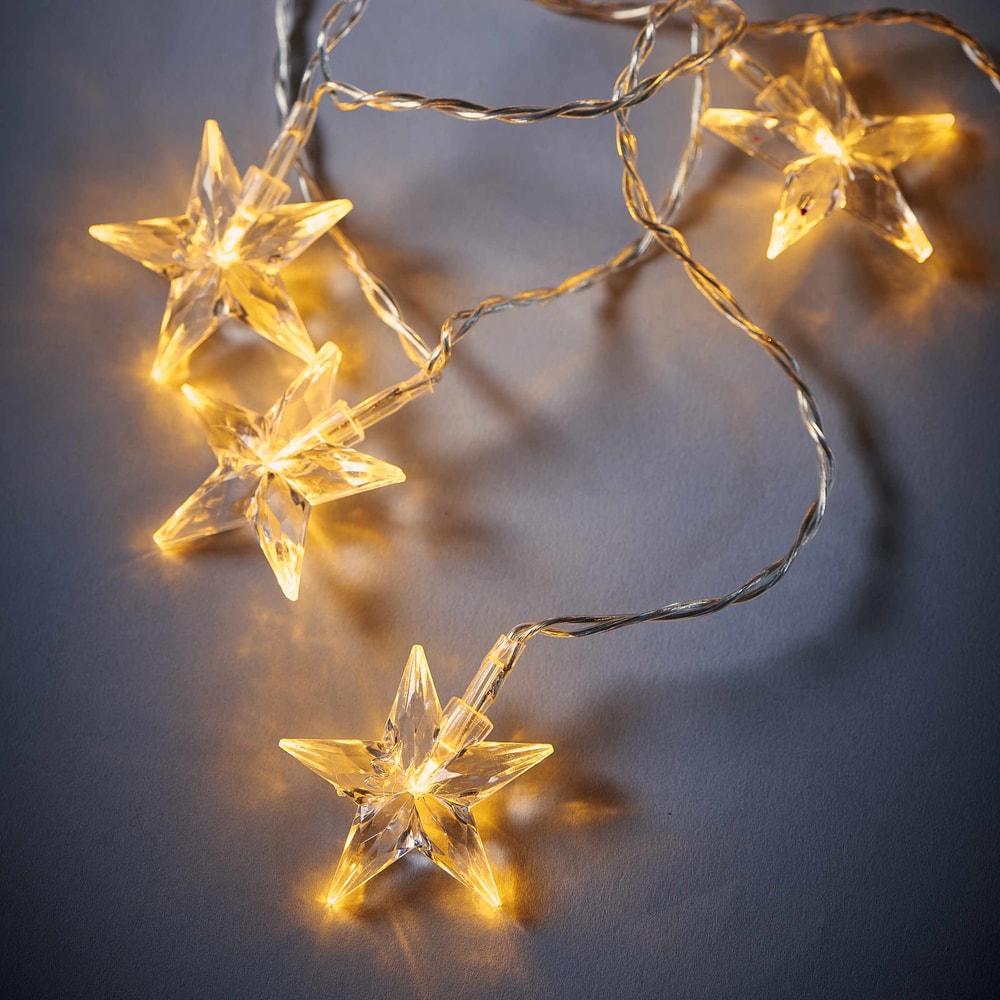 BRIGHT NIGHT LED Světelný řetěz hvězdy 10 světel