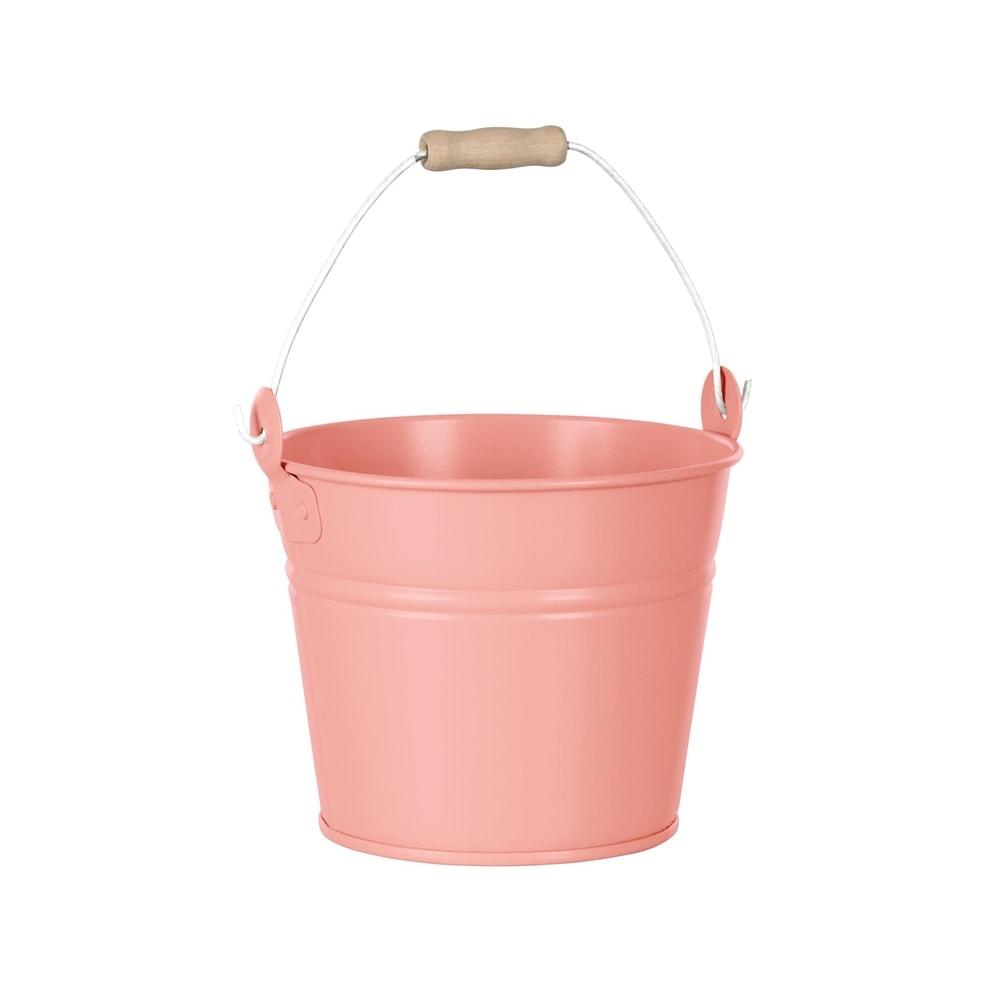 ZINC Kbelík 16 cm - pastelově oranžová