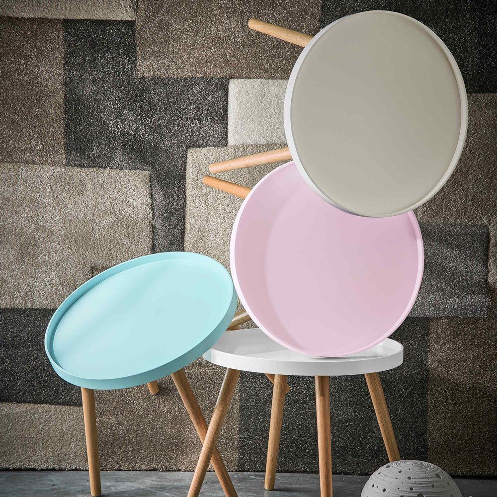 Produktové foto SWING TIME Příruční stolek - šedá