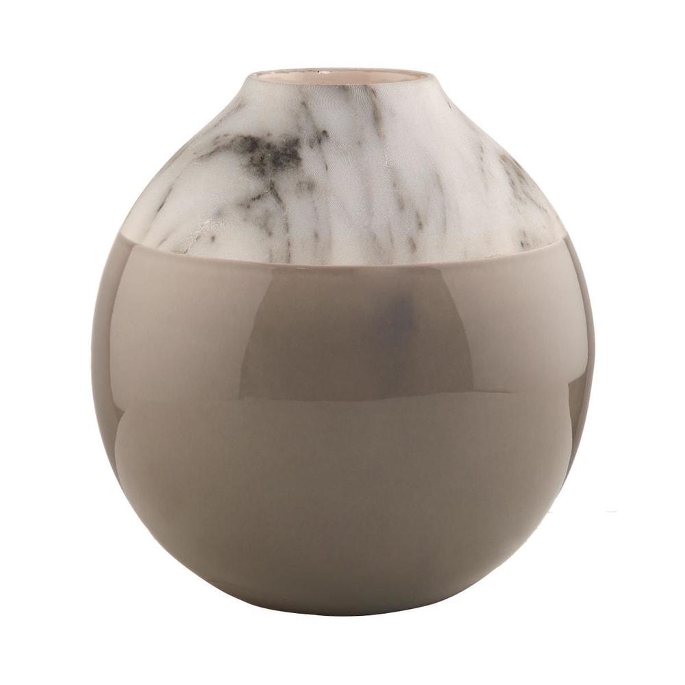 Produktové foto MARBELLO Váza mramorový vzhled - šedá