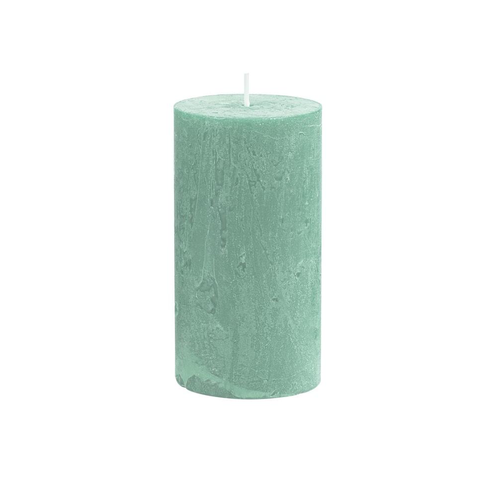 RUSTIC Svíčka 13 cm - šalvějová