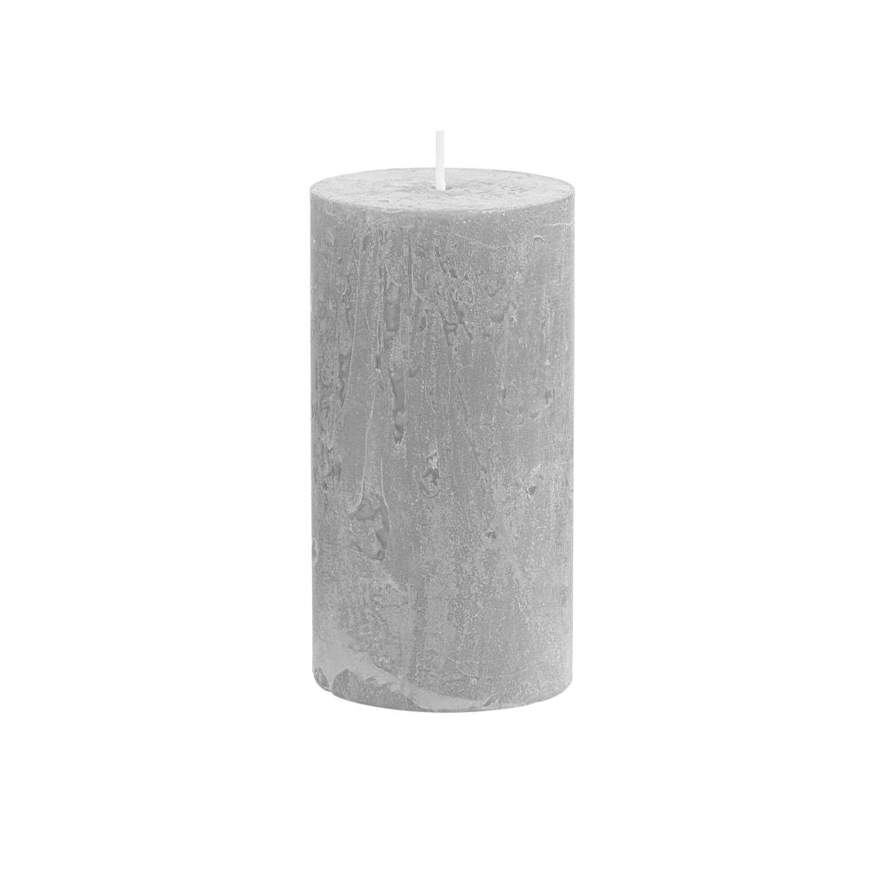Produktové foto RUSTIC Svíčka 13 cm - šedá