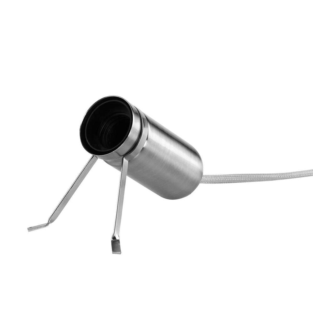 LUMOS Stolní lampa - stříbrná